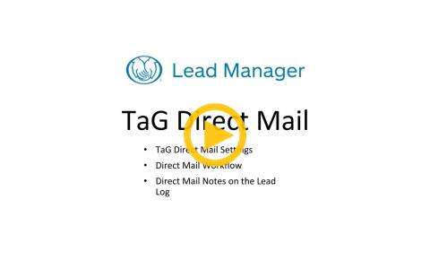 Sending Direct Mail